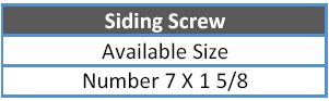 siding-screw
